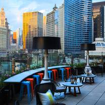 photo of raised at renaissance chicago downtown restaurant