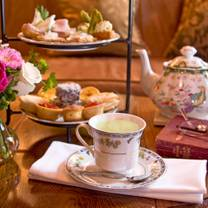 photo of afternoon tea at the o.henry hotel restaurant