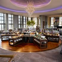 photo of holiday brunch at the rainbow room restaurant