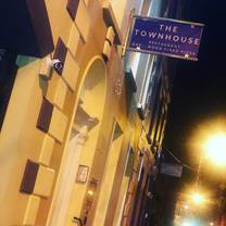 photo of the townhouse restaurant