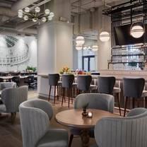 photo of the bar at hotel zachary restaurant