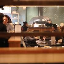 photo of delia's mediterranean grill & brick oven pizza - arlington restaurant