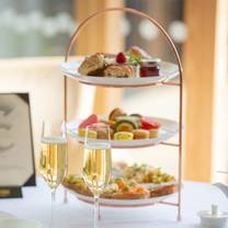 photo of afternoon tea at centurion club restaurant