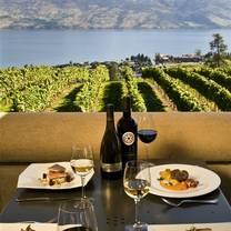 photo of terrace restaurant, mission hill family estate restaurant