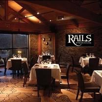 photo of rails steakhouse restaurant