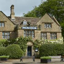 photo of the peacock at rowsley restaurant