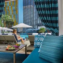 photo of pool cafe & cabanas - waldorf astoria, las vegas restaurant
