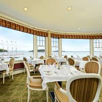 photo of reading room restaurant at the bar harbor inn restaurant