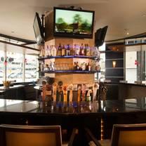 photo of the round bar - double tree hilton detroit restaurant