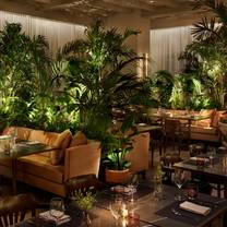 photo of the terrace at edition and outdoor gardens restaurant
