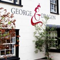 photo of george and dragon restaurant