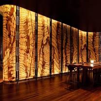 photo of the kitchen table - w bangkok restaurant