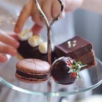 photo of afternoon tea at hotel saskatchewan restaurant