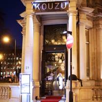 photo of kouzu restaurant