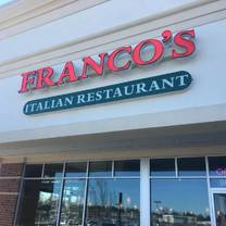 photo of franco's italian restaurant restaurant