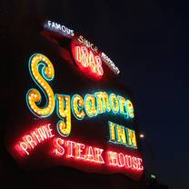 photo of the sycamore inn prime steak house restaurant