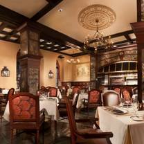photo of the rib room at the omni royal orleans restaurant