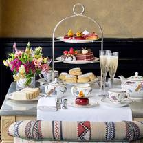 photo of afternoon tea at brasserie max restaurant