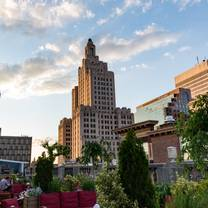 photo of rooftop at providence g restaurant