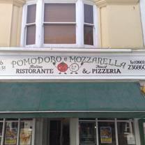 photo of pomodoro e mozzarella restaurant