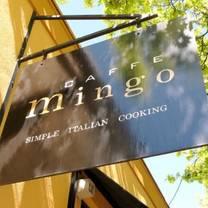 photo of caffe mingo restaurant