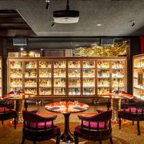 photo of the whiskey library @ the vagabond club restaurant