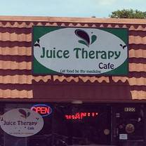 photo of juice therapy cafe restaurant