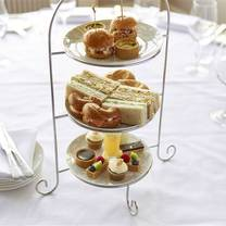 photo of afternoon tea at the manor elstree restaurant