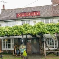 photo of six bells restaurant