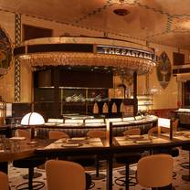 photo of the pasta bar @ harrods restaurant