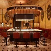 photo of the sushi bar @ harrods restaurant