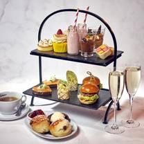 photo of afternoon tea at malmaison restaurant