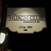 foto von the huron club restaurant