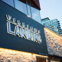 foto van williams landing restaurant