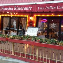 photo of finestra restaurant