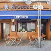 foto von gaststätte lederer restaurant