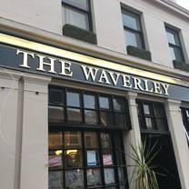 photo of the waverley hotel restaurant