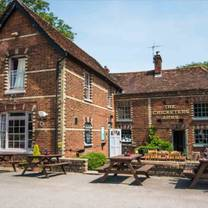 photo of the cricketers arms in rickling green restaurant