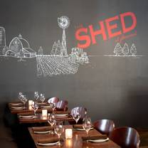 photo of the shed at glenwood restaurant