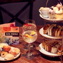 photo of gin 71 - buchanan street - afternoon tea restaurant