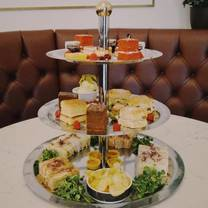 photo of high tea experience at the cliff hotel restaurant