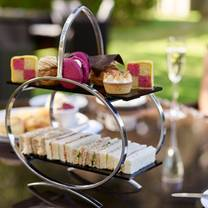 photo of afternoon tea at careys manor hotel restaurant