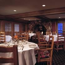 photo of the glitretind restaurant at stein eriksen lodge restaurant