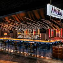 photo of ambra italian kitchen + bar - mgm grand restaurant