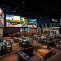 photo of draftkings sportsbook at del lago restaurant