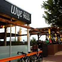photo of wye hill kitchen + brewing restaurant