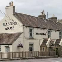 photo of masons arms restaurant
