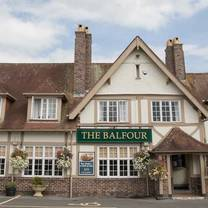 photo of balfour arms restaurant