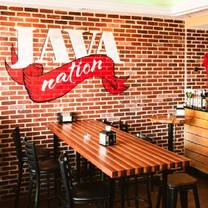 photo of java nation restaurant