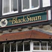 photo of the black swan restaurant
